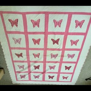 Gorgeous butterfly quilt
